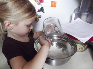 Tip #1 - When measuring your flour, spoon it into the measuring cup loosely - without packing it down or using a knife to level it off.
