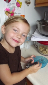 Tip #5 Mix your salt and water together in a  small bowl BEFORE adding to your flour. AND, if you are like me and like a sweet dough, you should add your sugar to the water and dissolve it as well.