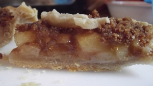 This is my slice from our test pie...oh my goodness it was delicious!