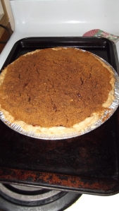 Out of the oven! Here's hoping!!! We won't find out till tomorrow!