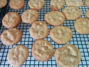 They brown really easy, so do not overcook them!
