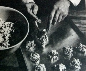 Does Anyone Else Remember Watching Their Mother or Grandmother Scooping Cookies Out This Way?