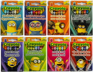 Crayola Minion Series.png